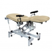 Sunflower Medical Beige Fusion Electric Phlebotomy Chair with Tilting Seat
