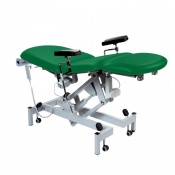 Sunflower Medical Green Fusion Electric Phlebotomy Chair with Tilting Seat