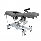 Sunflower Medical Grey Fusion Electric Phlebotomy Chair with Tilting Seat