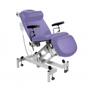 Sunflower Medical Lilac Fusion Electric Phlebotomy Chair with Tilting Seat