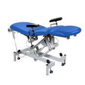 Sunflower Medical Mid Blue Fusion Electric Phlebotomy Chair with Tilting Seat