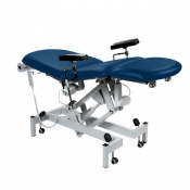 Sunflower Medical Navy Fusion Electric Phlebotomy Chair with Tilting Seat