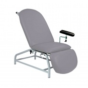 Sunflower Medical Grey Fusion Fixed-Height Phlebotomy Chair with Adjustable Feet