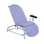 Sunflower Medical Lilac Fusion Fixed-Height Phlebotomy Chair with Adjustable Feet