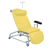 Sunflower Medical Primrose Fusion Fixed-Height Phlebotomy Chair with Locking Castors