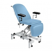 Sunflower Medical Cool Blue Fusion Hydraulic Height Phlebotomy Chair