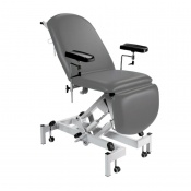 Sunflower Medical Grey Fusion Hydraulic Height Phlebotomy Chair