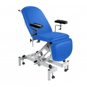 Sunflower Medical Mid Blue Fusion Hydraulic Height Phlebotomy Chair