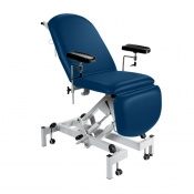 Sunflower Medical Navy Fusion Hydraulic Height Phlebotomy Chair
