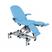 Sunflower Medical Cool Blue Fusion Hydraulic Podiatry Chair