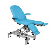 Sunflower Medical Sky Blue Fusion Hydraulic Podiatry Chair