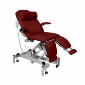 Sunflower Medical Red Wine Fusion Podiatry Electric Tilting Chair