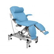 Sunflower Medical Sky Blue Fusion Podiatry Electric Tilting Chair