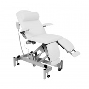 Sunflower Medical White Fusion Podiatry Electric Tilting Chair