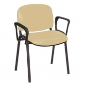 Sunflower Medical Beige Intervene Galaxy Visitor Chair with Arms