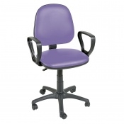 Sunflower Medical Lilac Gas-Lift Chair with Arm Rests