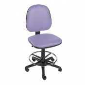 Sunflower Medical Lilac Gas-Lift Chair with Foot Ring
