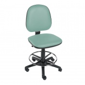 Sunflower Medical Mint Gas-Lift Chair with Foot Ring