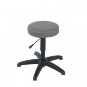 Sunflower Medical Grey Gas-Lift Stool with Glides