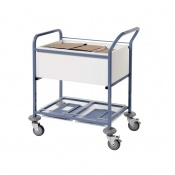 Sunflower Medical Open Records Transfer Trolley
