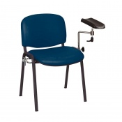 Sunflower Medical Navy Vinyl Phlebotomy Chair