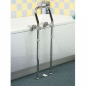 Swedish Bath Side Rail Chrome Plated