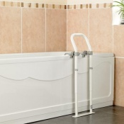 Swedish Epoxy-Coated Bath Side Rail