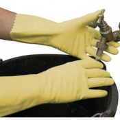 Polyco Swift Household Lightweight Natural Rubber Chemical Resistant Safety Glove (144 Pairs)