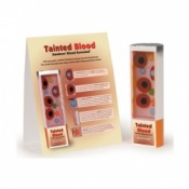 Smokers Blood Revealed Display Tobacco Educational Aid