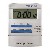 Talking Pocket-Sized Timer and Clock