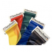 TheraBand Resistive Exercise Band Dispenser Pack