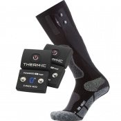 Therm-IC Powersock Uni Heat Heated Sock Double Set with S-Pack 1400B Bluetooth Battery
