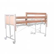 3/4 Length Wooden Height Extension Side Rails for Casa Profiling Beds