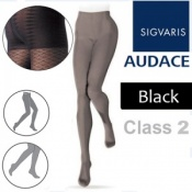 Sigvaris Audace Class 2 Black Compression Tights