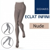 Sigvaris Eclat Infini Compression Tights - Nude