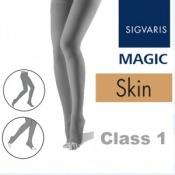 Sigvaris Magic Class 1 Open Toe Compression Tights - Skin