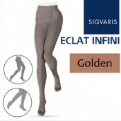 Sigvaris Eclat Infini Compression Tights - Golden