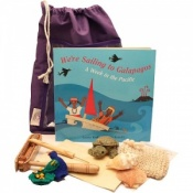 We're Sailing to the Galapagos Sensory Toy Story Book