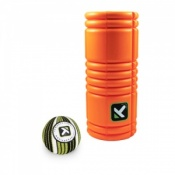 Trigger Point Grid Foam Roller and Massage Ball Pack