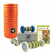 Trigger Point Grid Foam Roller and Hip and Lower Back Combo Pack