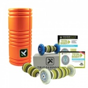 Trigger Point Grid Foam Roller and Total Body Kit Combo Pack