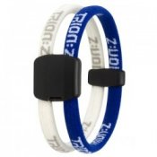 Trion Z Magnetic Sports Bracelet Dual Loop Blue and White