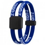 Trion Z Magnetic Sports Bracelet Dual Loop Double Blue