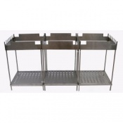 Tubular Steel Stand for Wax Baths