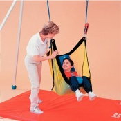 Tumble Forms 2 Deluxe Vestibulator II Net Swing with Positioning Seat