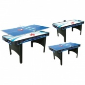 Typhoon 2-in-1 Air Hockey/Table Tennis Table