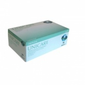 Unicare Lightly Powdered Latex Gloves