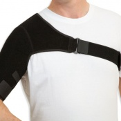 Variable Compression Shoulder Support