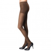 Bauerfeind VenoTrain Micro Class 1 Caramel Compression Tights with Top Band