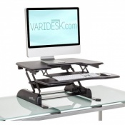 VARIDESK Sit Stand Single Plus Desk